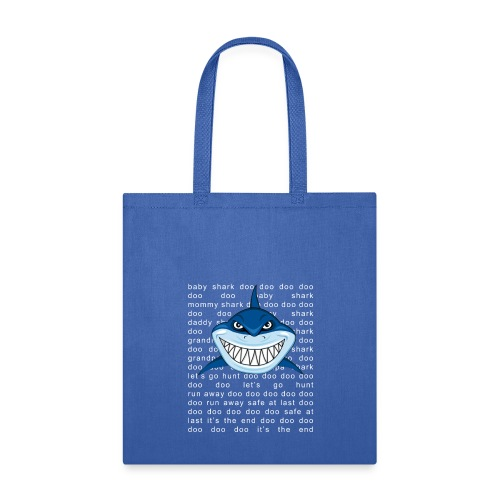 Shark T-shirt Doo Doo Doo - Father's Day Gift Tee - Tote Bag