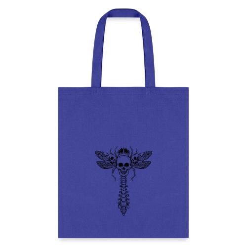 dragonfly skull - Tote Bag