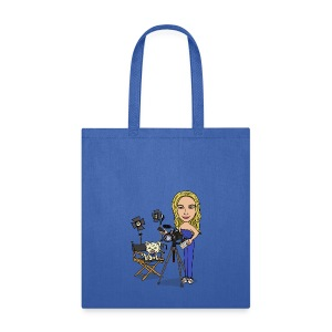 Jahnnalee and Gizmo the Chihuahua Filmmaker - Tote Bag