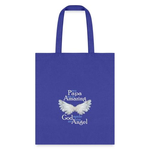 Papa Amazing Angel - Tote Bag