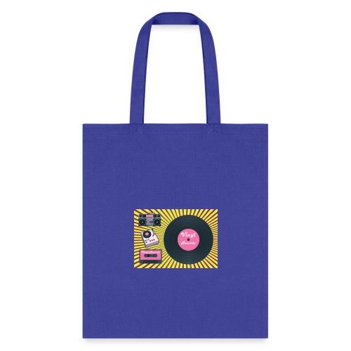 Vinyl Life. - Tote Bag