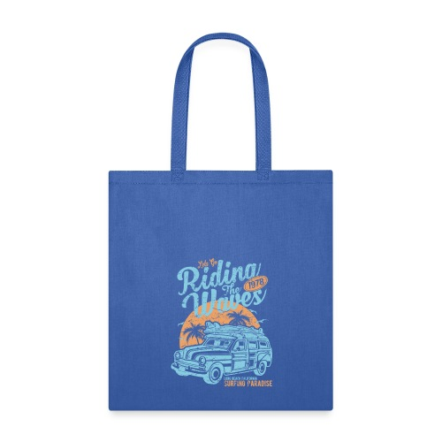 Riding The Waves - Tote Bag