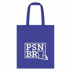 PSN BR Blue on White - Tote Bag