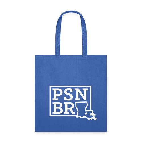 PSN BR Blue on White - Tote Bag