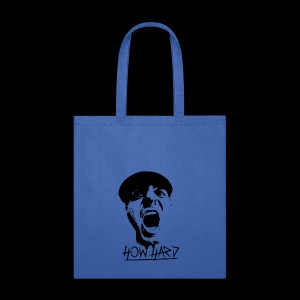 How Hard Scream Face & Logo - Tote Bag