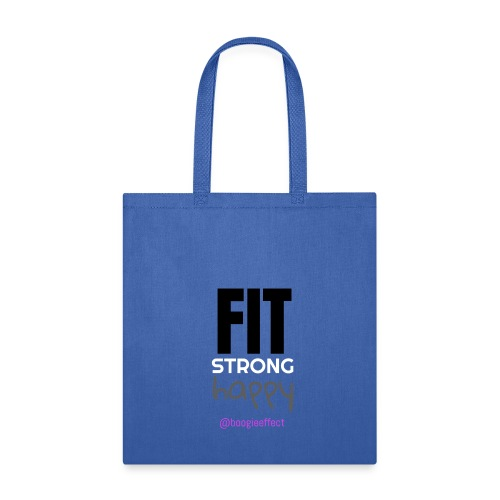 fit strong happy colour - Tote Bag