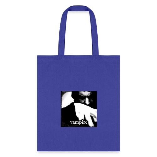 Vampire Black And White - Tote Bag
