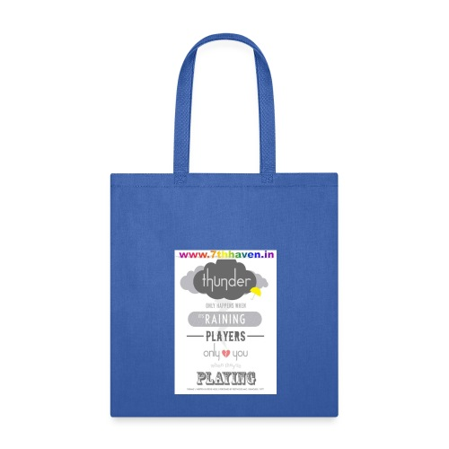 Player, Rainy, thunder, Dream - Tote Bag