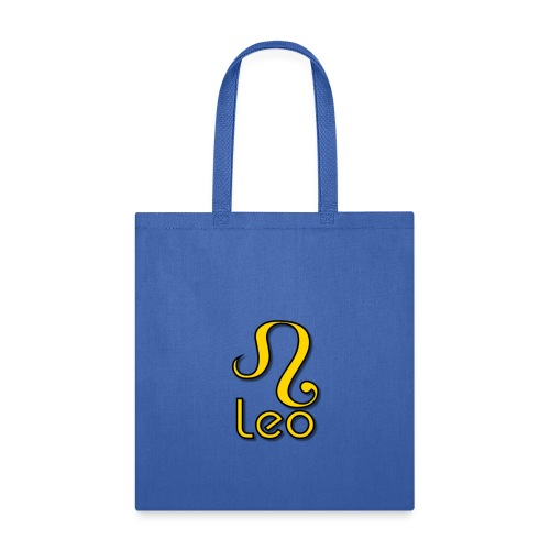 zodiac leo yellow - Tote Bag
