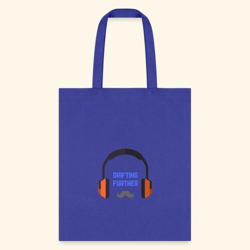 Headphones Mustache - Tote Bag