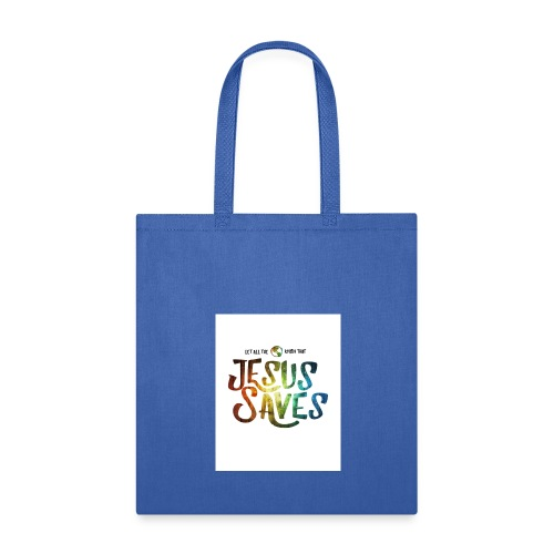 jesus saves by kevron2001 da12h2t - Tote Bag