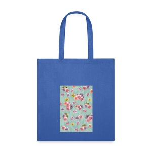 Floral Graphic Pattern1 - Tote Bag