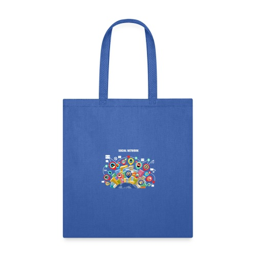 Social Network - Tote Bag