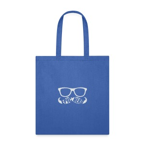 White Epic Nerd Logo - Tote Bag
