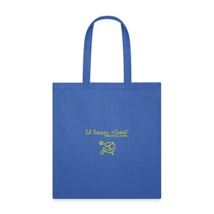 Full Li Huan Chao Logo Black+Yellow - Tote Bag