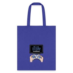 Blue Thumbs Gaming: Gamepad Logo - Tote Bag