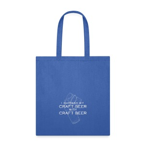 I Garnish my Craft Beer with Craft Beer - Tote Bag
