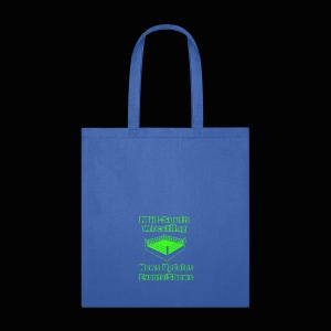 Mid-South Wrestling News Neon/Lime Green - Tote Bag