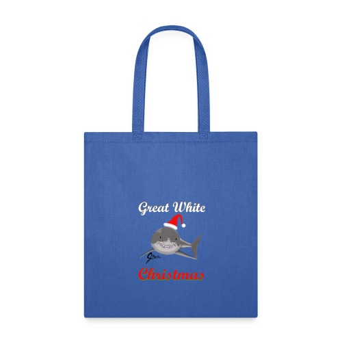 Dreaming of a Great White Christmas - Tote Bag