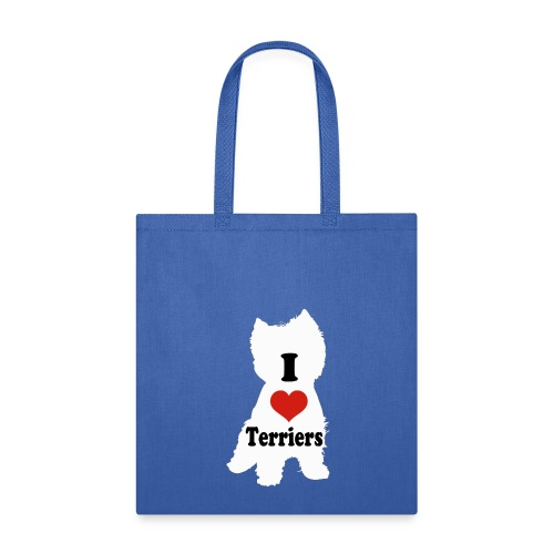 I Heart Terriers - Tote Bag