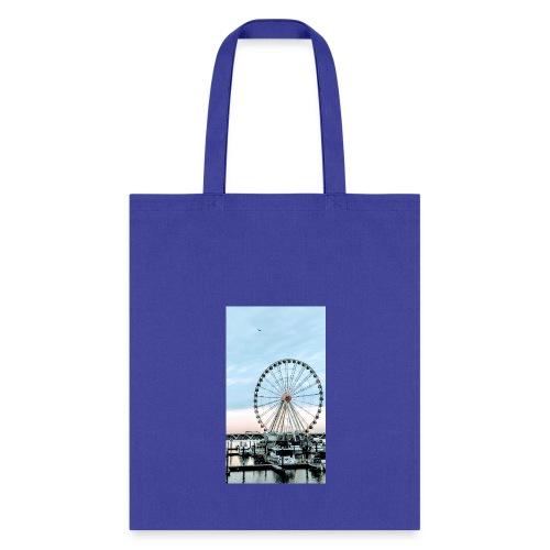 HARBOR FERRIS WHEEL - Tote Bag