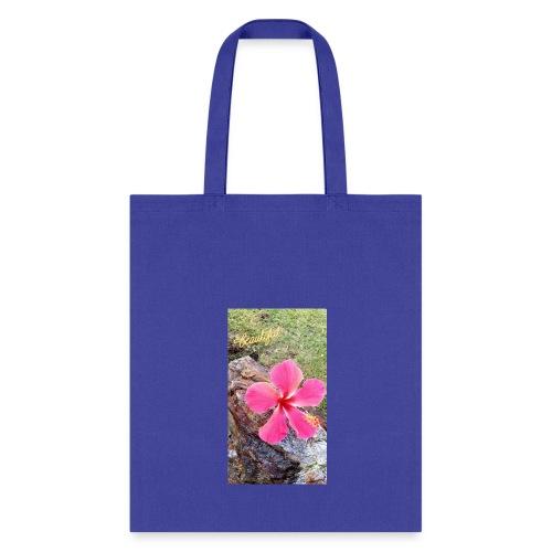 Pink Beach Flower - Tote Bag