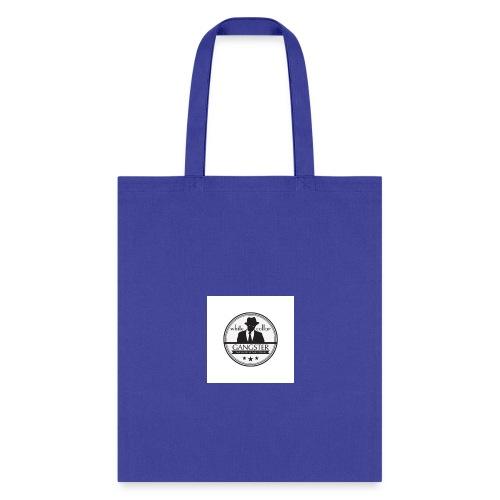 gangster logo design logo free design gangster log - Tote Bag