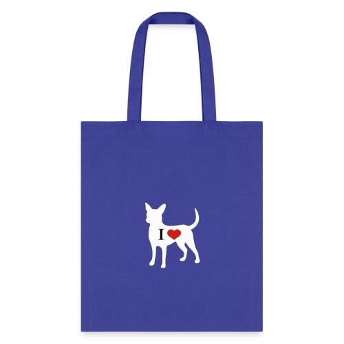 I Heart Chihuahua - Tote Bag
