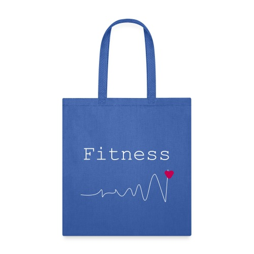 fitness coeur sain - Tote Bag