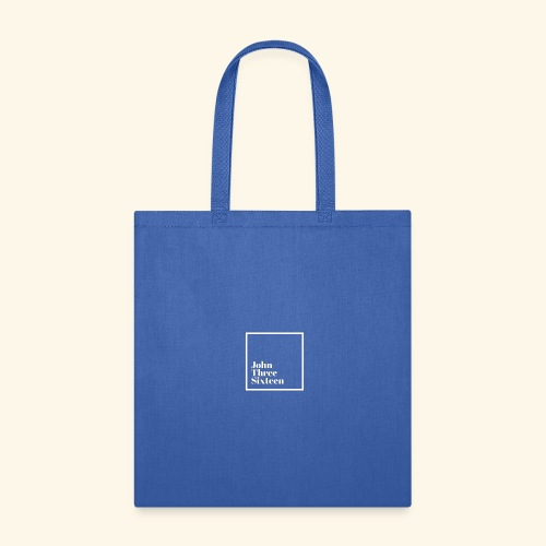 John 3:16 White - Tote Bag
