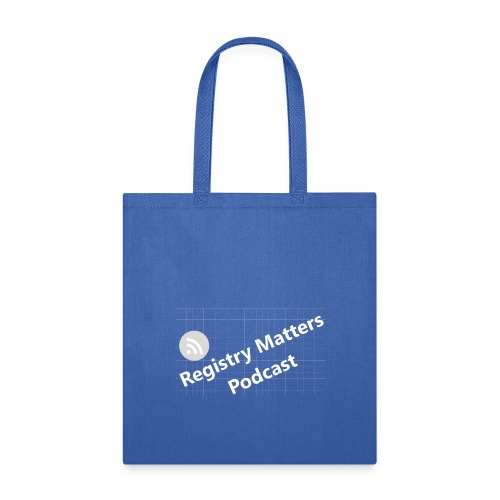 Registry Matters Podcast - Tote Bag