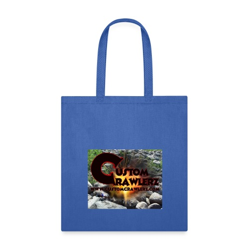 Custom Crawlerz Logo Explosive Rocks tight 2018 - Tote Bag