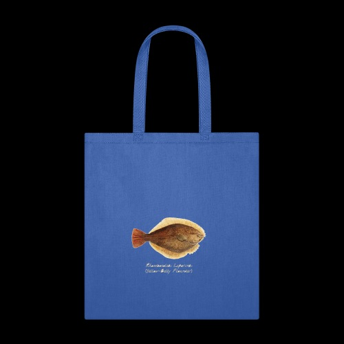 Yellow belly flounder - Tote Bag