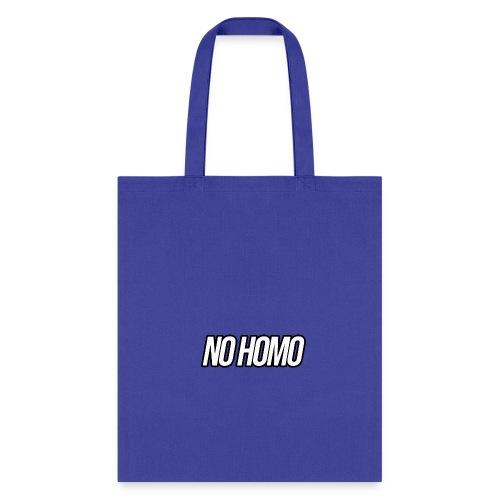 No Homo Apperal - Tote Bag