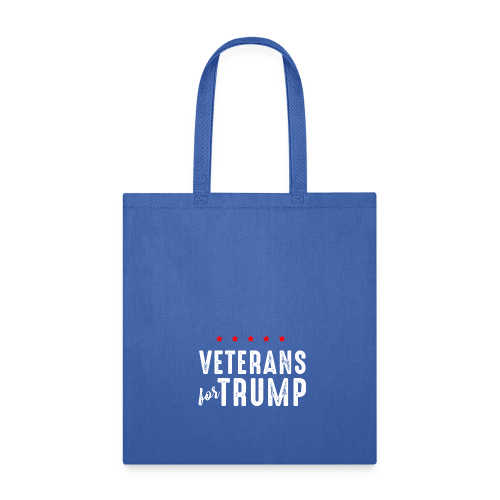 Veterans For Trump - Tote Bag