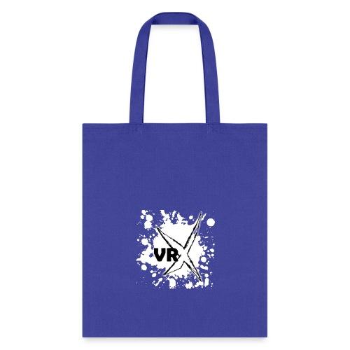 VRX White Paint Splatter - Tote Bag