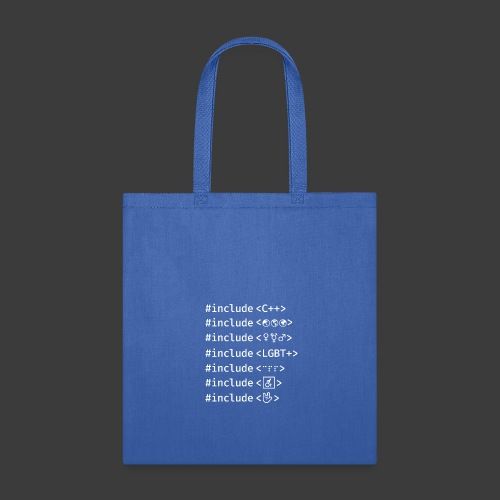 White Include List - Tote Bag