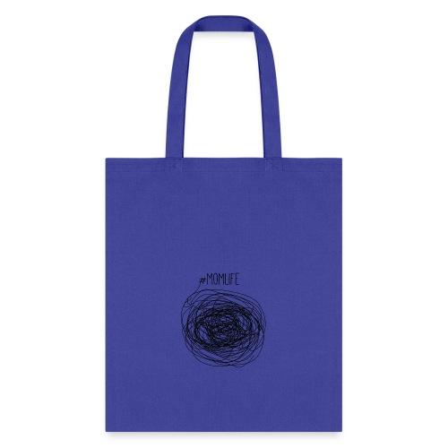 #Momlife MomLife Outfit - Scratch Art Design - Tote Bag
