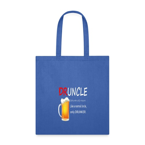 Druncle Beer T shirt Gift For Men - Tote Bag