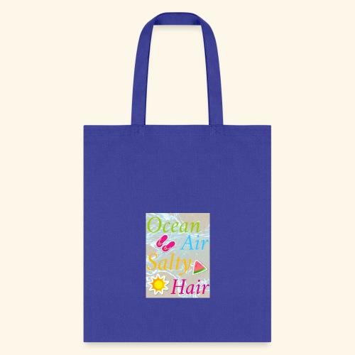 Ocean Air Salty Hair - Tote Bag