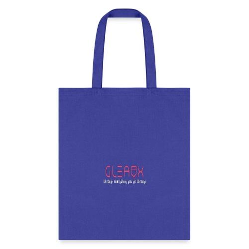 GLEAUX Through pink white - Tote Bag
