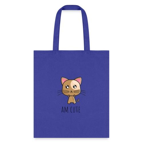Am Cute Furry Animal - Tote Bag