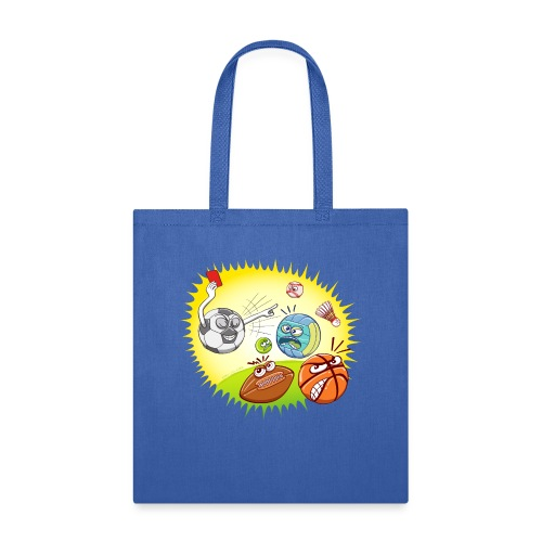 Soccer showing red card to other sports - Tote Bag
