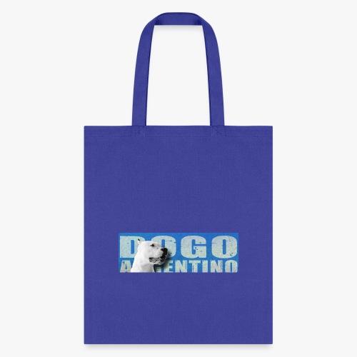 Dogo argentino. Dogo argentine, - Tote Bag