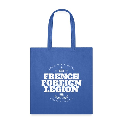 The French Foreign Legion - White - Tote Bag