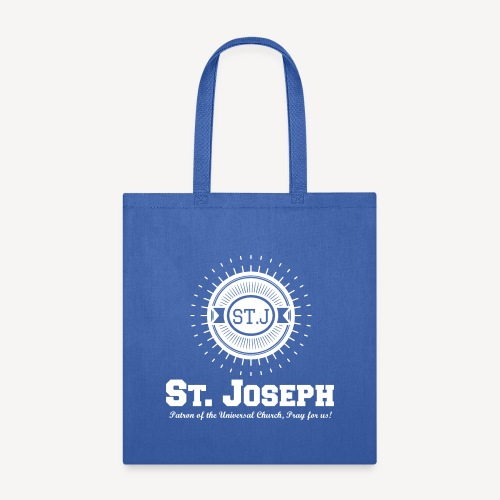 Saint Joseph, Patron of the Universal Church - Tote Bag