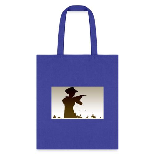 Western PUBG Man - Tote Bag