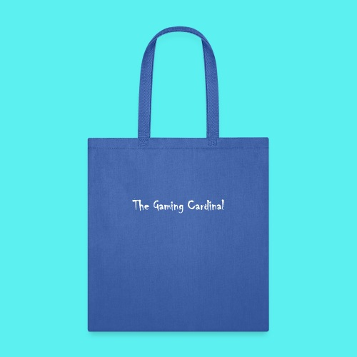 white logo text - Tote Bag