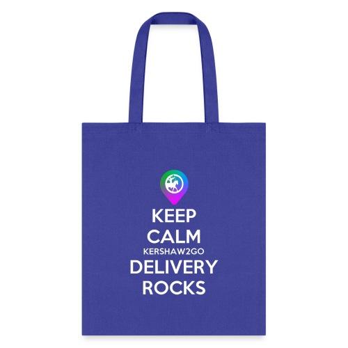 Keep Calm Kershaw2Go Delivery Rocks - Tote Bag