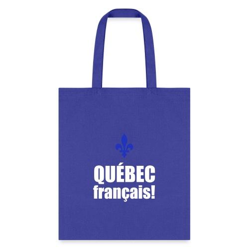 QUÉBEC français - Tote Bag